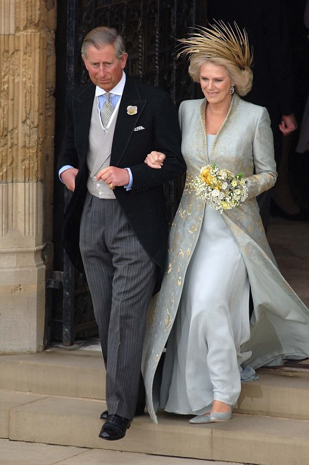 The book claims Charles and Camilla might never have been married had she not wanted to make her then husband Andrew jealous