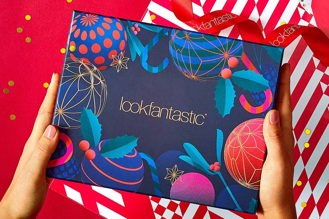 наполнение Lookfantastic Beauty Box December 2019